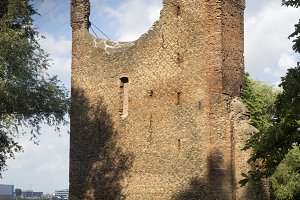 Remains of Merwe castle