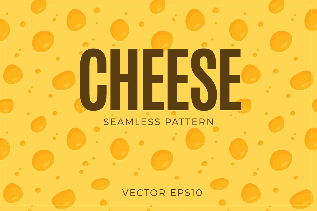 Cheese Repeating Pattern