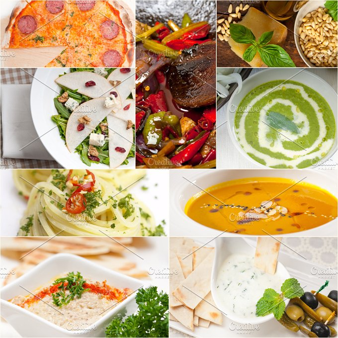 tasty and healthy food collage 13.jpg - Food & Drink