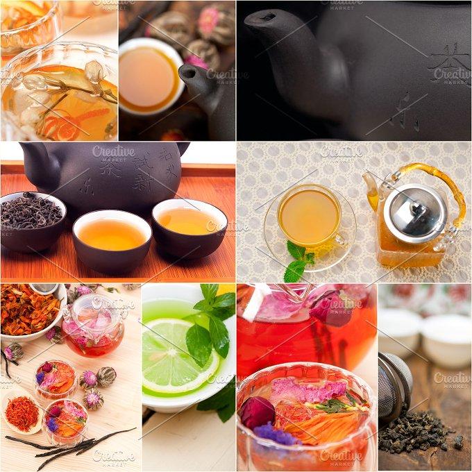 tea infusion tisane collage 3.jpg - Food & Drink