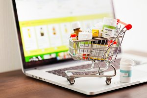 Homeopathic drugs in shopping cart