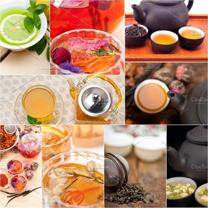 tea infusion tisane collage 8.jpg - Food & Drink