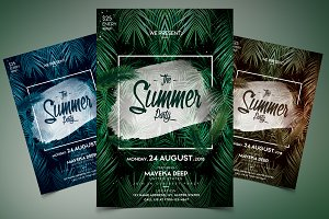 The Summer Party - PSD Event Flyer