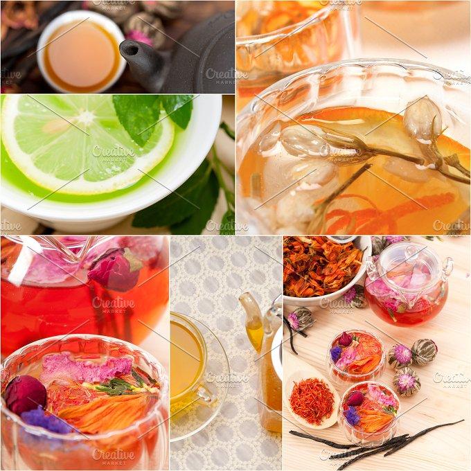 tea infusion tisane collage 13.jpg - Food & Drink