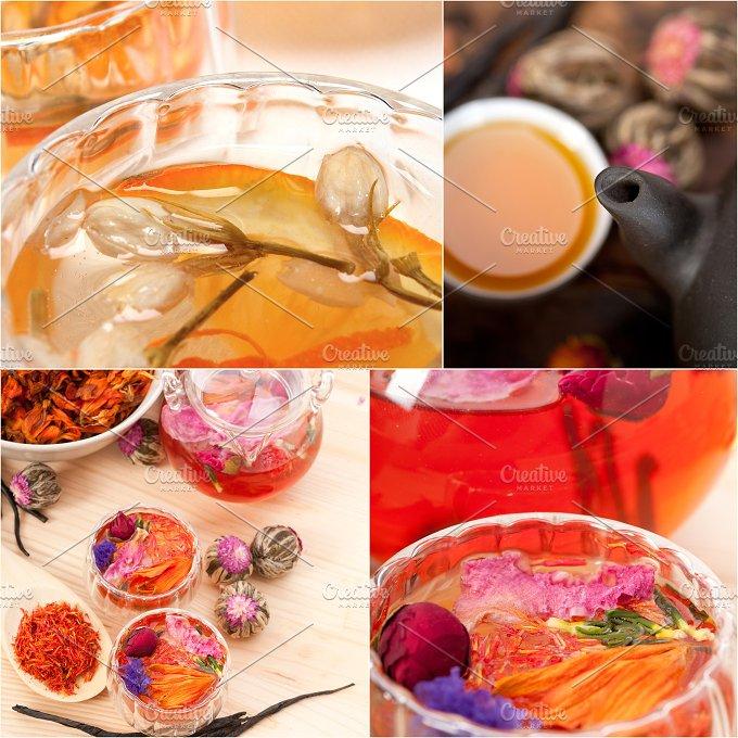 tea infusion tisane collage 20.jpg - Food & Drink
