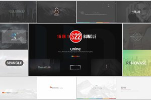 Unine++ Powerpoint Bundle