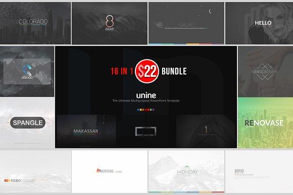 Unine++ Powerpoint Bundle