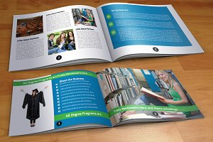 20 Pages Bi Fold Brochure