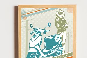 Scooter Rally Flyer
