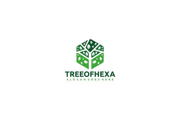 Hexagon Tree Logo