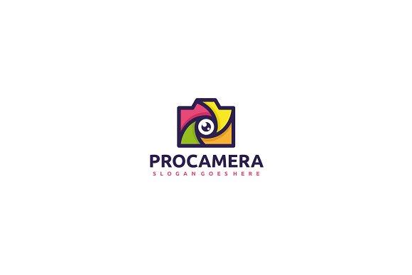 Professional Camera Logo
