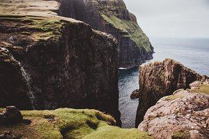 The High Cliffs of the Faroe Islands