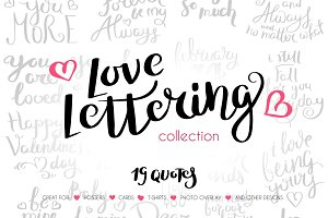 Love Lettering Collection vol1