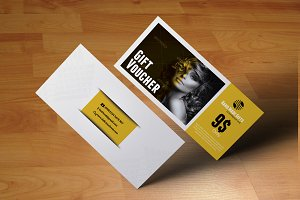Fashion Gift Voucher Psd Template