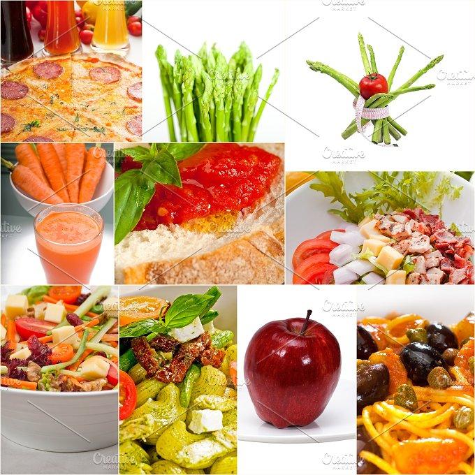 vegetarian food collage 5.jpg - Food & Drink
