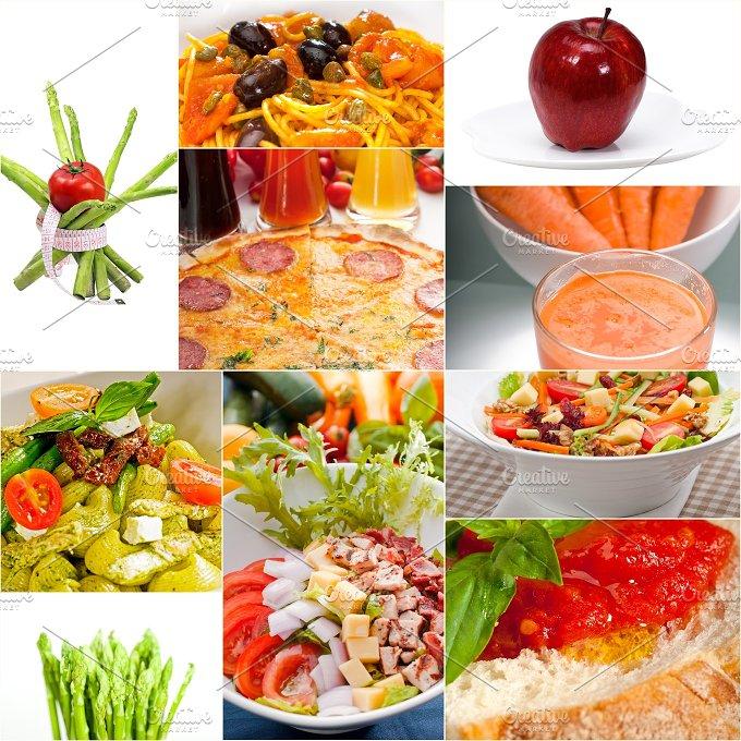 vegetarian food collage 7.jpg - Food & Drink