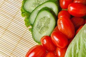 Ripe vegetables