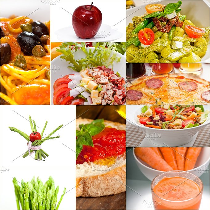 vegetarian food collage 11.jpg - Food & Drink
