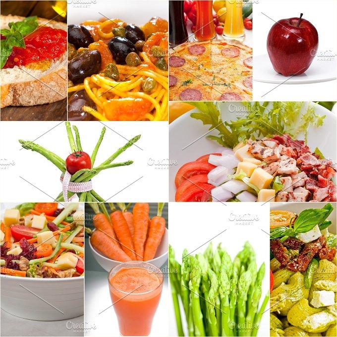 vegetarian food collage 12.jpg - Food & Drink
