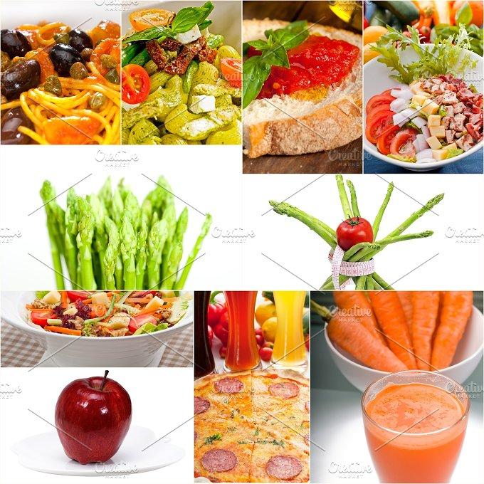 vegetarian food collage 14.jpg - Food & Drink