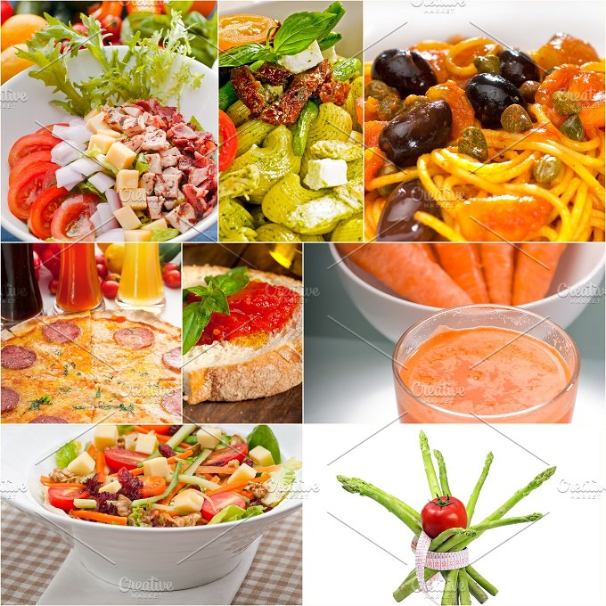 vegetarian food collage 21.jpg - Food & Drink