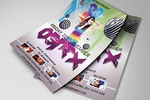 Ospex Party Flyer Template
