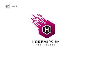 H Letter - Hexa Logo