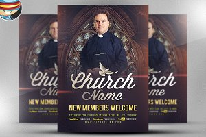 Church Flyer Template V2