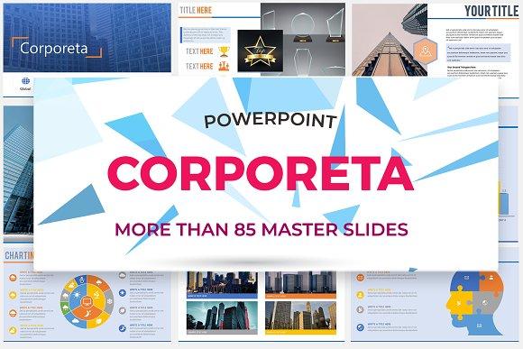Corporeta Power Point Template