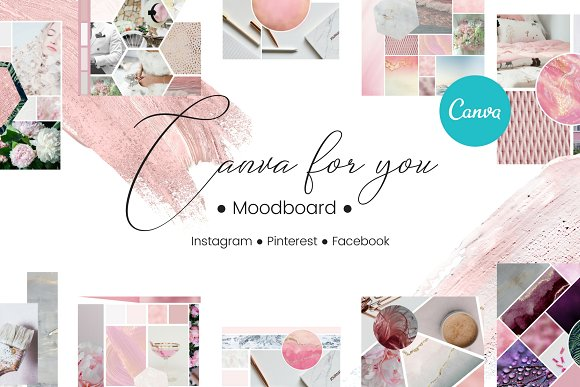 Canva For You Moodboard
