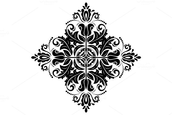 Orient Vector Pattern Abstract Background