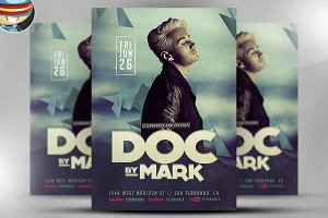 DJ Flyer Template V3
