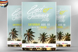 End of Summer Flyer Template V2