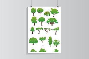 Tree set.