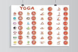 Yoga set.