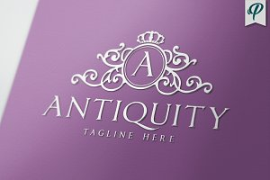 Antiquity - Luxury Logo Template