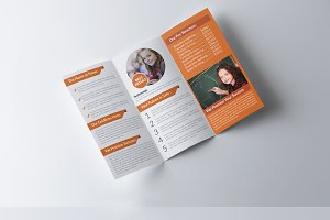 Education and Business Tri Fold