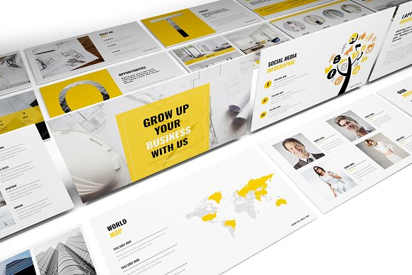 Construction Keynote Template