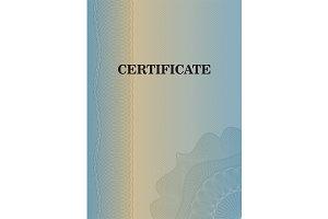 Diplomas and certificate template