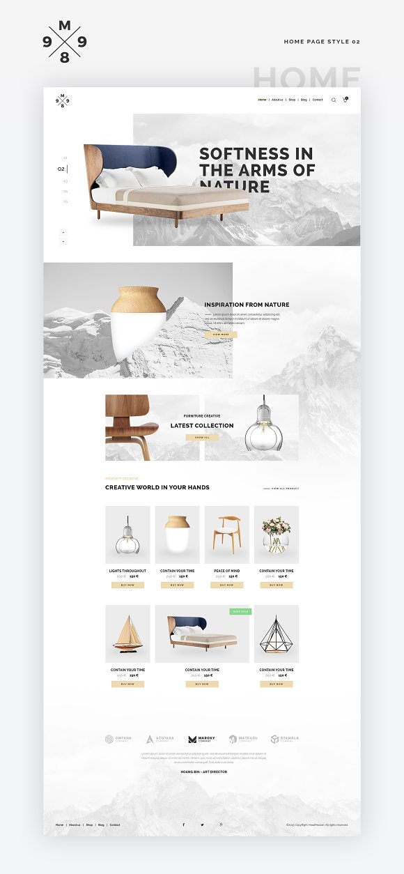 Website Kit 100 Blocks 25 Page