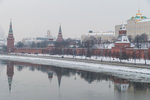 Kremlin and the river 2018