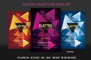 Electro House Flyer