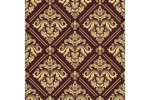 Classic Seamless Vector Pattern