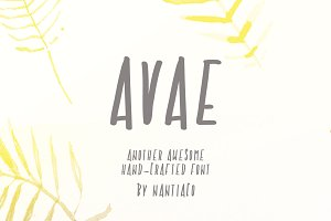 Another Awesome Font AVAE