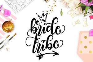 Bride tribe SVG DXF PNG EPS