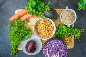 The Ingredients of a BuddhaBowl