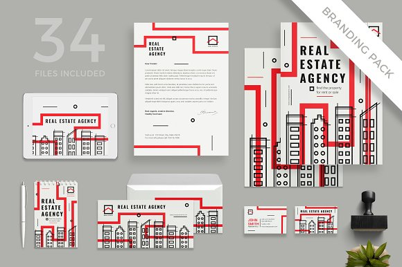 Branding Pack Real Estate Agency