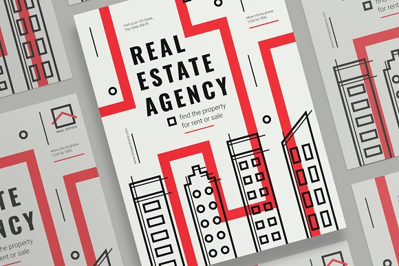 Posters Real Estate Agency