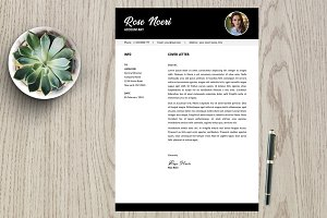Resume Template 2 page pack | Rose