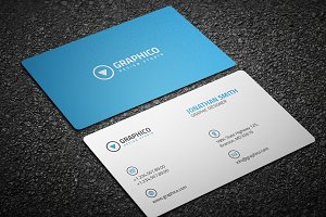 Clean Corporate Business Card - 18